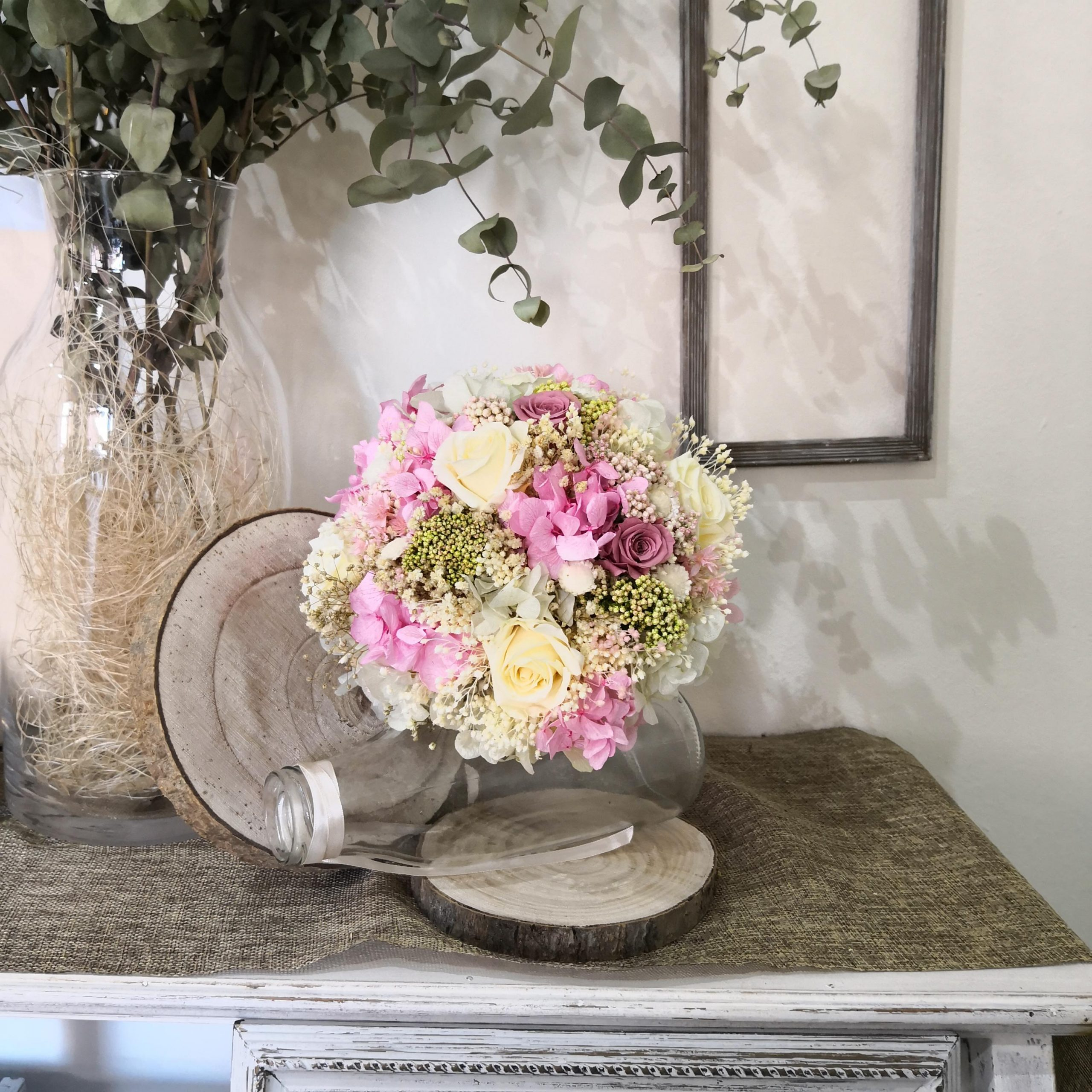 Ramo de flores pequeño para decorar