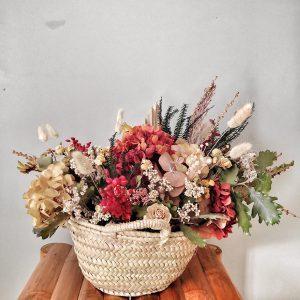 Cesto flores preservadas Sully