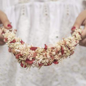 Tocado flores Sativa