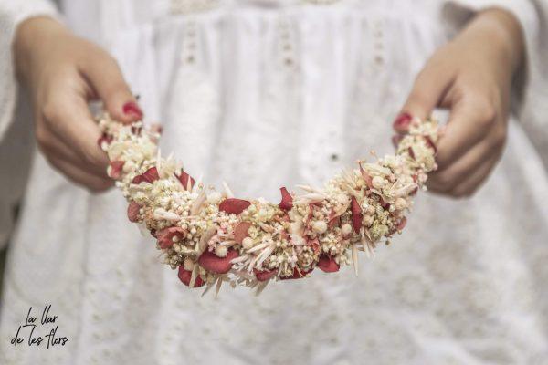 Tiara de flores sativa 04